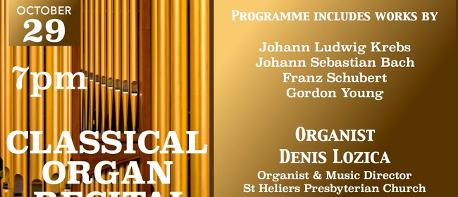 Classical Organ Recital