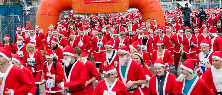 The Great KidsCan Santa Run/Walk - Christchurch