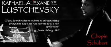 Raphael Lustchevsky Piano Recital