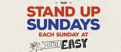 Little Easy Stand Up Comedy Sundays