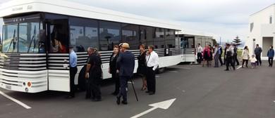 Art Deco Bus to Dixie Chicks Concert