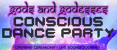 Gods and Goddesses Conscious Dance Party