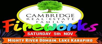 Cambridge Real Estate Family Fireworks