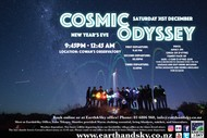 Earth & Sky New Years Eve Cosmic Odyssey