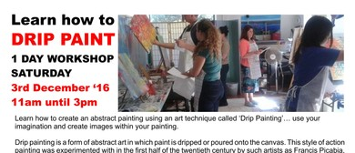 One Day Drip Painting Workshop