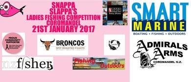 Snappa Slappa's Ladies Fishing Competition