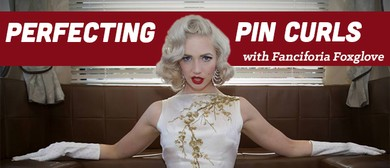 Perfecting Pin Curls with Fanciforia Foxglove