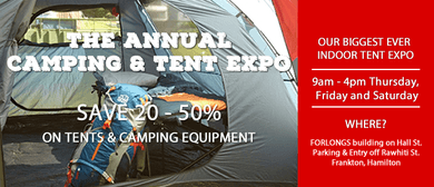 The Annual Camping & Tent Expo 2016