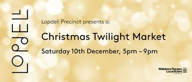 Twilight Christmas Markets