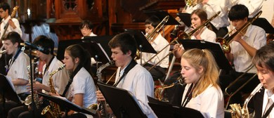 Rangitoto and St Kentigen College Bands