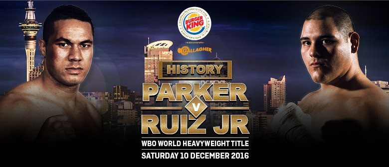 Joseph Parker vs Andy Ruiz - WBO World Heavyweight Title