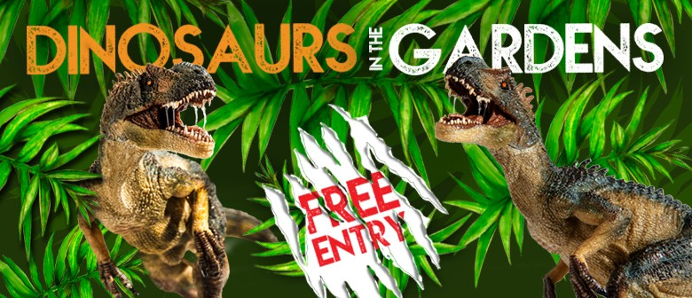 Dinosaurs In The Gardens