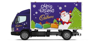 Cadbury Christmas Truck Tour