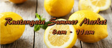 Ruatangata Summer Market