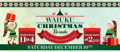 Waiuku Magical Christmas Parade
