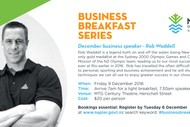 Business Breakfast Series - Rob Waddell