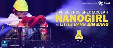 Nanogirl In Little Bang, Big Bang - Science Show