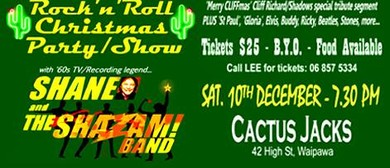 Rock 'n' Roll Christmas Party with Shane & the ShaZam Band.