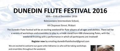 Dunedin Flute Festival 2016