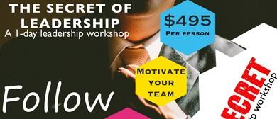 The Secret of Leadership: A 1-day Workshop