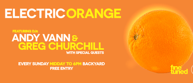 Electric Orange Summer Sundays