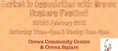Market In Association With Orewa Buskers Festival