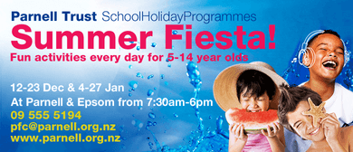Party Day - Parnell Trust Holiday Programme