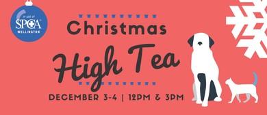 Wellington SPCA Christmas High Tea 2016