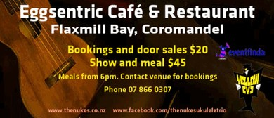 The Nukes with Azo Bell Uke Maestro Australia