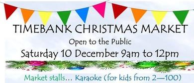 TimeBank Christmas Market