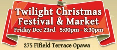 Community Twilight Christmas Festival and Market