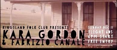 Kara Gordon & Fabrizio Canale