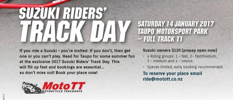 Suzuki NZ Big Bike Day Out