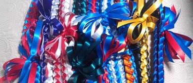 Saturday Gallery Club #23: Ribbon Leis