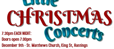 3 Merry Little Christmas Concerts
