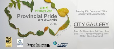 McIntyre Dick and Partners 2016 Provincial Pride Art Awards