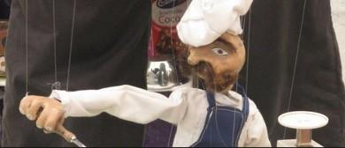 String Bean Puppets