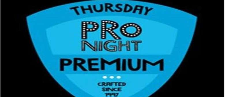 Thursday Pro Night: Premium Comedy