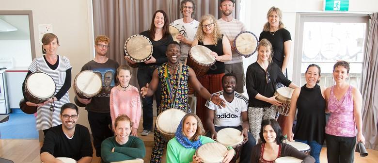 West African Drumming Workshop with Koffie