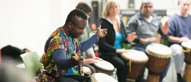 West African Drumming/Dance Workshop with Koffie from Ghana!