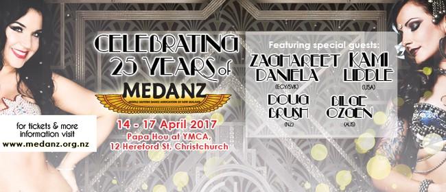 MEDANZ Festival 2017 - Celebrating 25 years