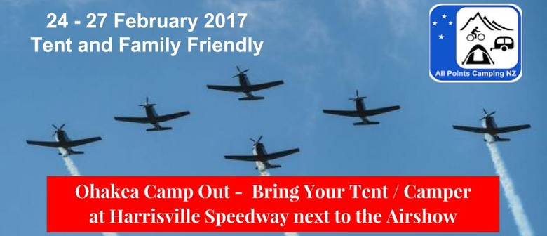 Ohakea Family Campout for 2017 Air Tattoo