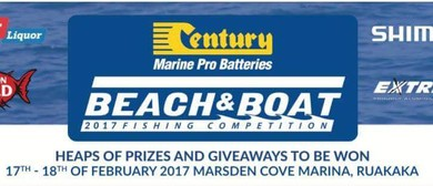 Century Batteries Beach and Boat Fishing Competition