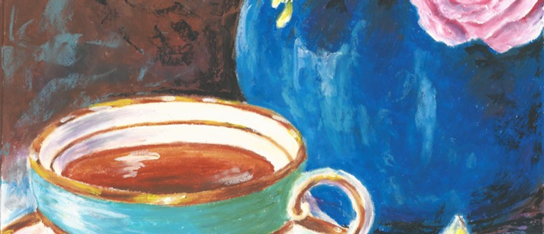 Learn to Draw - Tea Cup In Oil Pastel Workshop