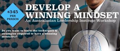 Develop A Wining Mindset: 1 Day Workshop
