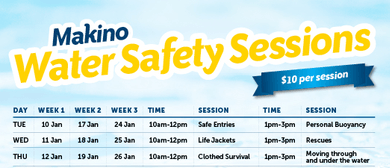 Water Safety Sessions - January 2017