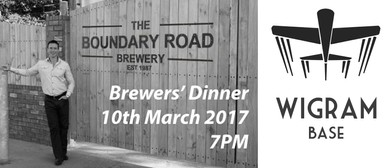 Boundary Road Brewery Dinner