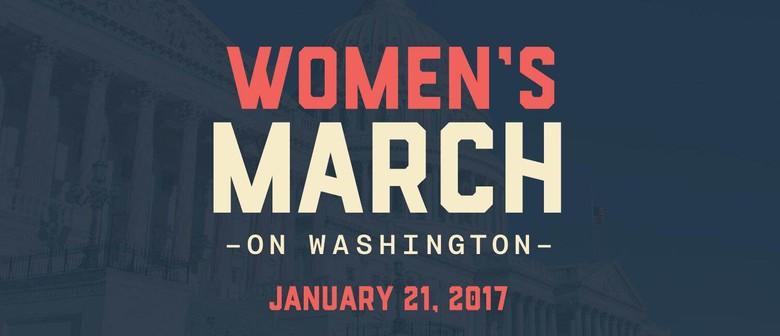 Women's March on Washington - Wellington
