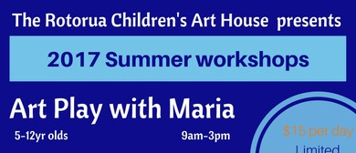 Children's Art House Summer Workshops-Art Play with Maria