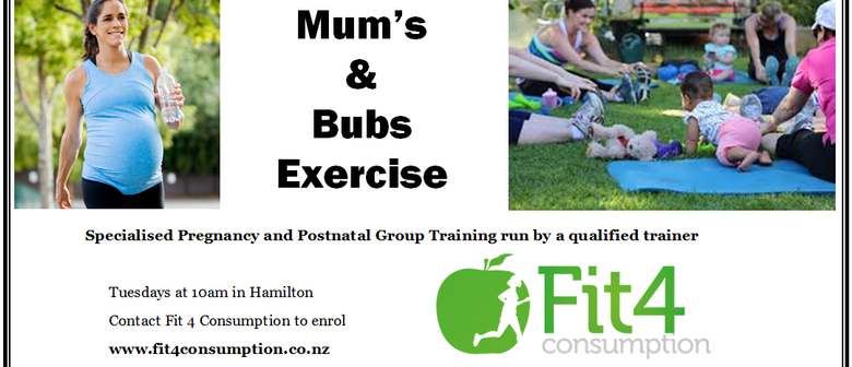 Mum's & Bubs Group Exercise Class